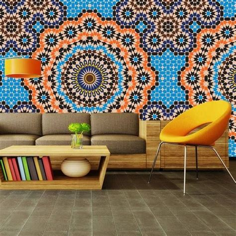 moroccan wallpaper pinterest this is a moroccan inspired quot zellige quot wallpaper morocco