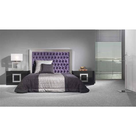 stainless steel headboards sool twist button tufted plush velvet with stainless steel