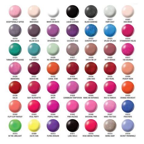 china glaze nail colors orly color chart nail color charts