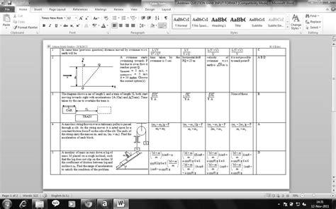 file format questions question paper preparation software question paper