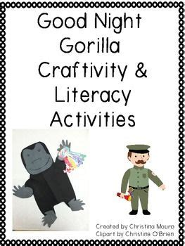 libro good night gorilla 1000 ideas about gorilla craft on letter g crafts zoo crafts and zoo crafts preschool