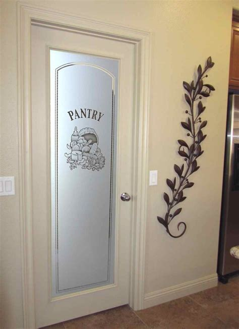 pantry glass doors etched glass pantry doors sans soucie glass