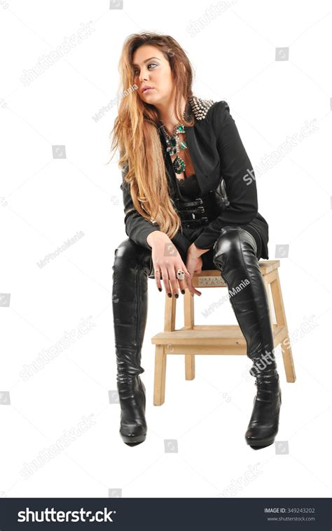in leather boots cr boot
