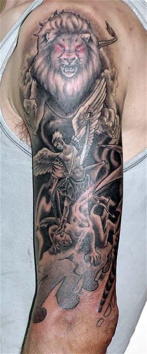 angel king tattoo wild tattoos lion king tattoos