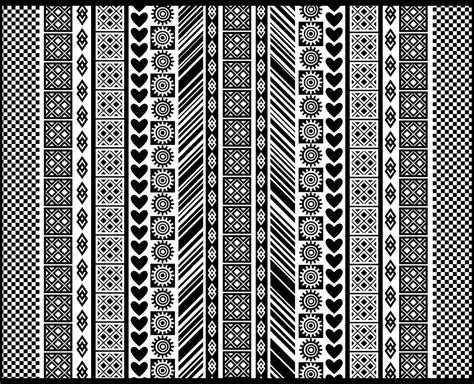 Home Design Ipad App by African Adinkra Pattern In Black And White Digital Art By