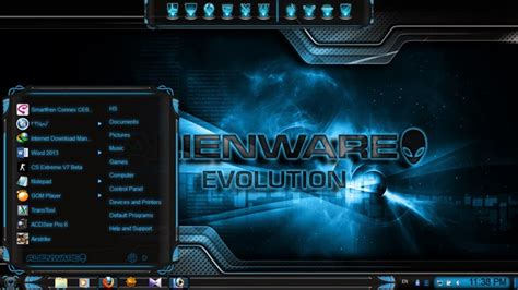 awesome themes download for windows 7 download cool theme for windows 7 alienware evolution