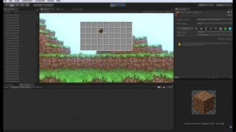 Unity Tutorial Minecraft   unity 3d minecraft clone tutorial 12 continuando o