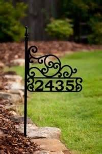 1000 ideas about home address signs on