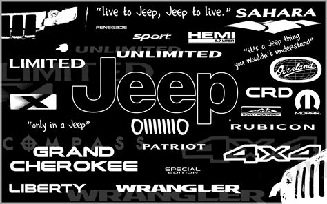 Free Car Logos Wallpapers For Desktop by Jeep Logo Wallpaper 30 Images On Genchi Info