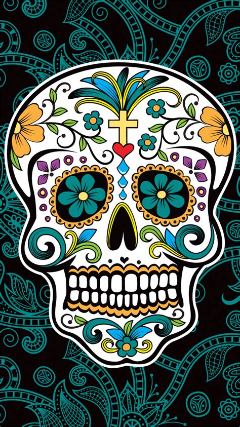 wallpaper for iphone 6 skull apple iphone 6 custom skin decal cover sticker graphic