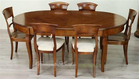 tavoli ovali allungabili in legno tavoli ovali e rotondi non allungabili tavoli