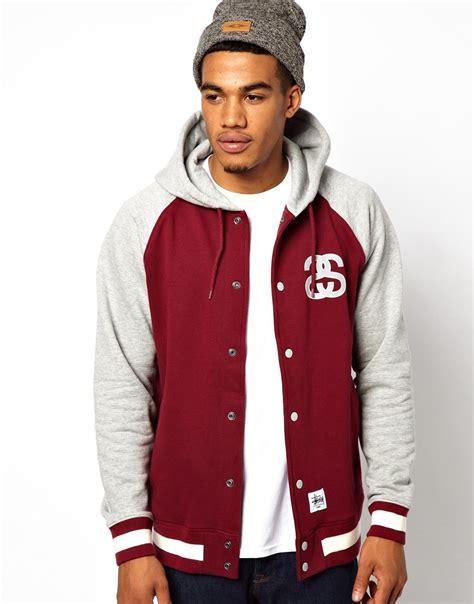 Hooded Baseball Jacket hooded baseball jacket coat nj