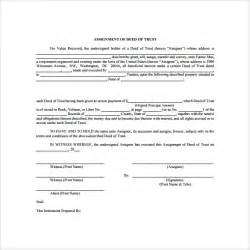 Trust Deed Template by Deed Of Trust Forms 8 Documents Free In Pdf Word