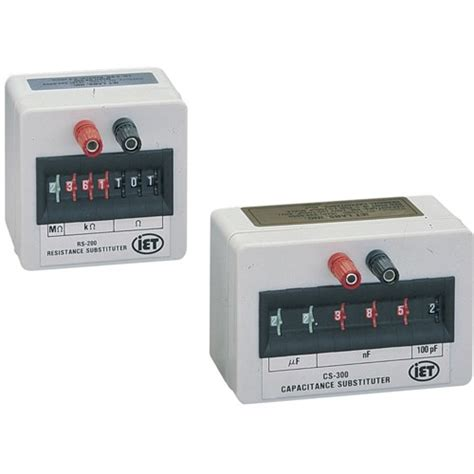 iet resistor box iet rs200 resistance substitution box comtrade store