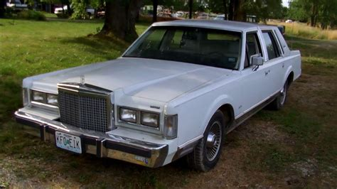 how to work on cars 1987 lincoln continental mark vii electronic throttle control 1987 lincoln town car signature series w 26k miles full tour start up youtube