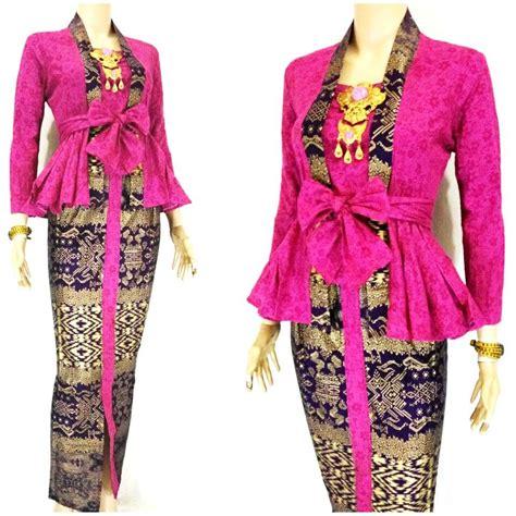Baju Batik Maheswari stelan kebaya peplum sk maheswari ungu baju grosir jogja