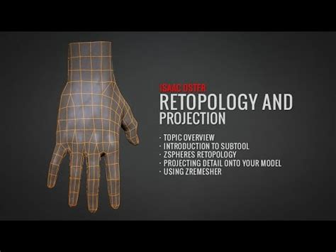 Zbrush Projection Tutorial | zbrush retopology and projection full tutorial at badking