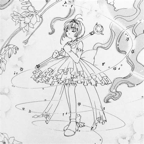 Cardcaptor Coloring Pages by 15 Best Card Captors Coloring Pages Images On