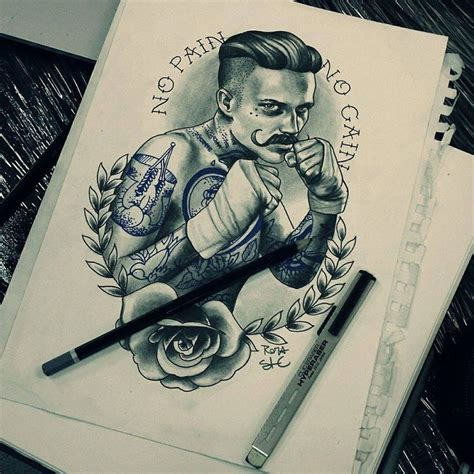 boxer tattoo best 25 boxer ideas on traditional