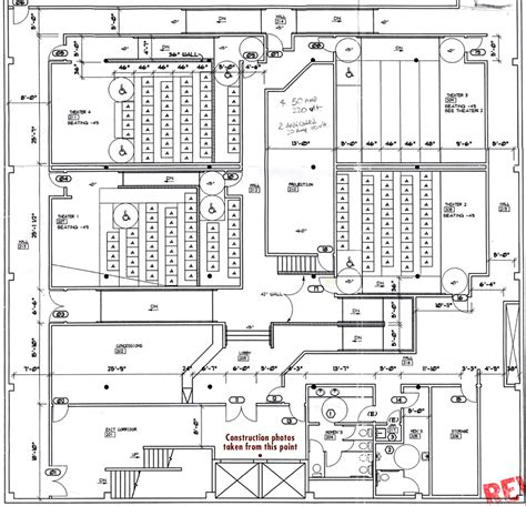movie theater floor plan 28 movie theatre floor plan zarchitech march 2011