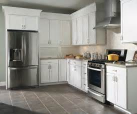 White Laminate Kitchen Cabinets Thermofoil Kitchen Cabinets Aristokraft Cabinetry
