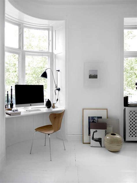 cozy home office monochrome danish home 79 ideas