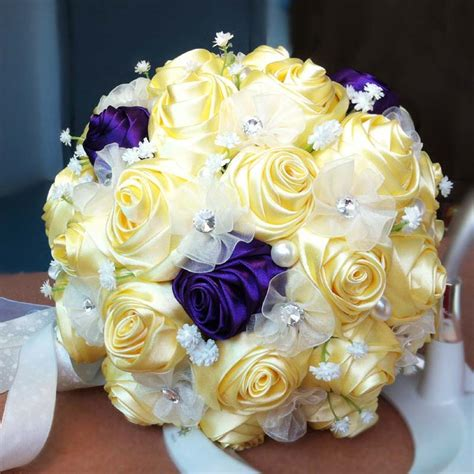 Where To Buy Bridal Bouquets by Popular Yellow Bridal Bouquet Buy Cheap Yellow