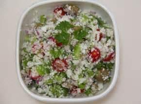 Cauliflower Rice Detox Salad by Italian Style Cauliflower Rice Recipe Just Glowing With