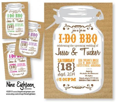 bbq themed bridal shower ideas 2 wedding shower invitation i do bbq theme custom printable