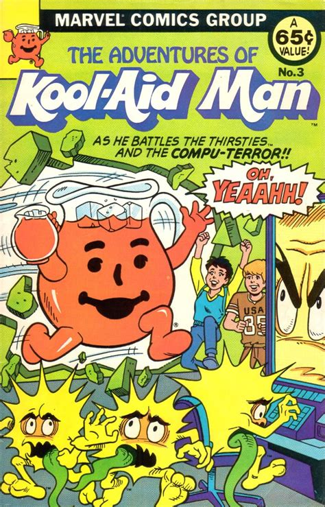 the amazing adventures of aya pete in books adventures of kool aid vol 1 3 marvel database