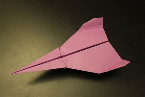Cool Origami - how to make a simple but cool paper plane origami in 3