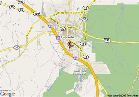 map of huntsville texas map of 8 motel huntsville texas huntsville