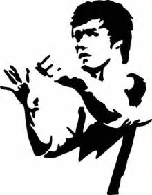Bob Marley Wall Stickers bruce lee ready stance vinyl decal graphic choose your