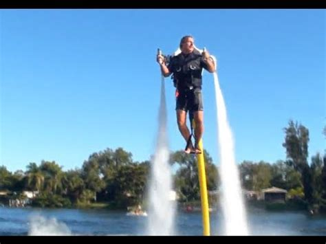 water scooter flying water jet pack youtube