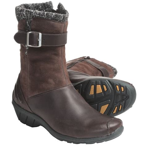 merrell leather boots merrell donatella boots leather nubuck for save 59