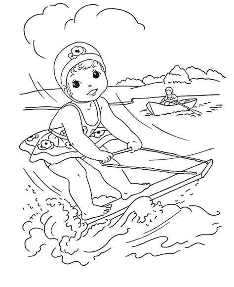 Coloring Pages Of Summer Season free printable summer coloring pages for