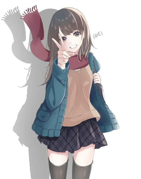 anime school winter by elevenxixer on deviantart