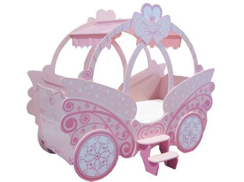 lit carrosse but lit enfant en forme de carrosse 90x190cm princesse