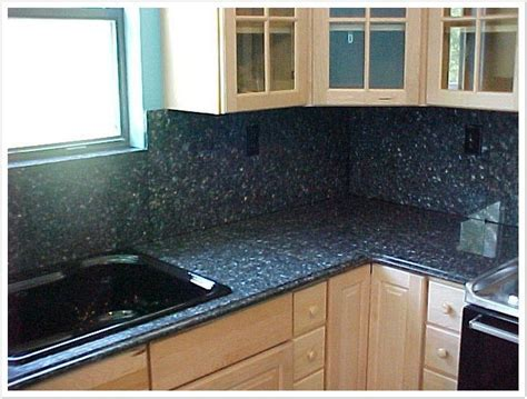 Deep Blue Pearl Granite   Denver Shower Doors & Denver