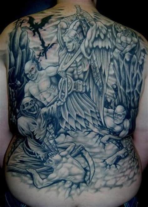 good vs evil tattoos evil images designs
