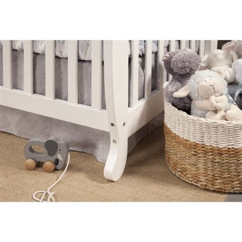 Davinci Emily 4 In 1 Convertible Crib White by Davinci Emily 4 In 1 Convertible Wood Baby Crib In White M4791w