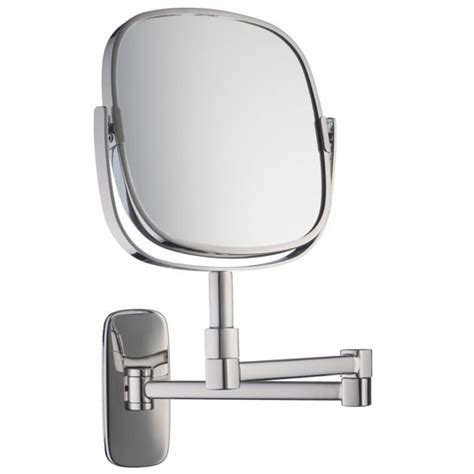 bathroom mirror with magnifier burford extendable magnifying mirror by robert welch from