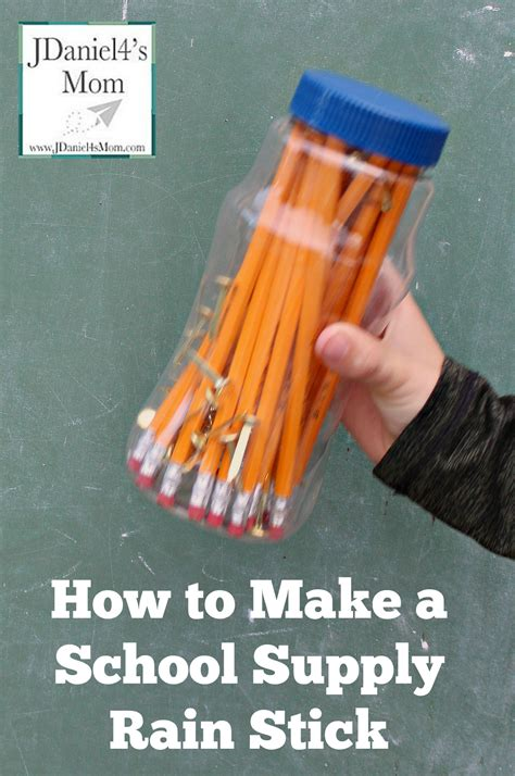 How To Make A School Supply Stick