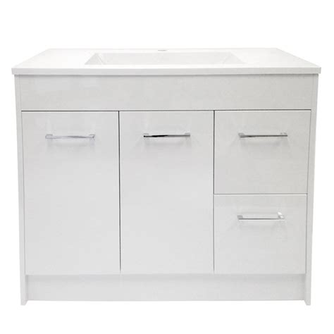 Bathroom Vanity Top Ideas Vanity And Sink 2 Doors 2 Drawers 35 Quot White Rona