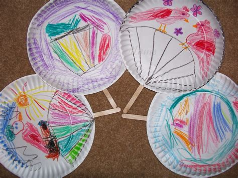 Japanese Paper Fan Craft - crafty asian pacific american heritage