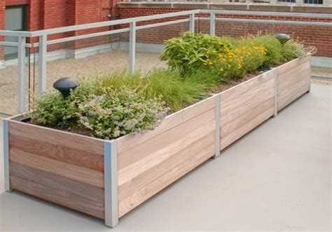 rooftop balcony planters landscaping network