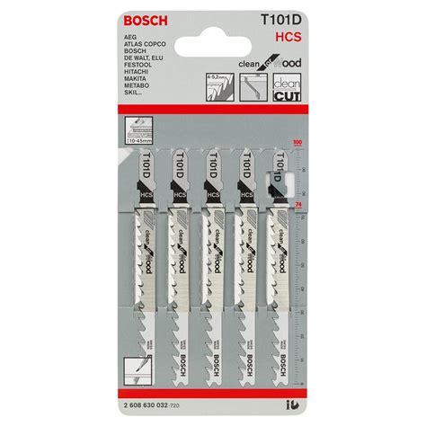 Bosch T101d Mata Jigsaw bosch t101d 2608630032 jigsaw blades for wood 5 toolfix ie