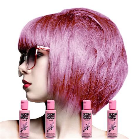 to hair color crazy color semi permanent marshmallow hair dye 4 pack