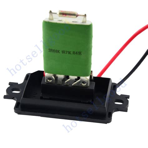 renault megane ii heater blower resistor 7701207717 509536