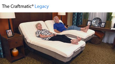 legacy adjustable bed craftmatic adjustable beds